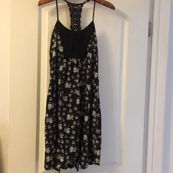 Abercrombie kids floral dress size 16 (women s 0) c5cb1f30b0